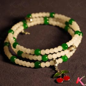 Blanc Vert Cerises