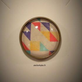 Triangles Graphique Multicolores