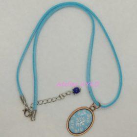Tapisserie Bleu Ciel Turquoise