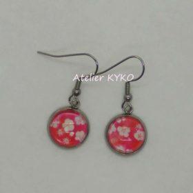 Japon Fleurs Rouge