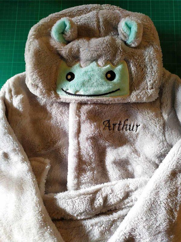 Drap de bain brodé / Arthur