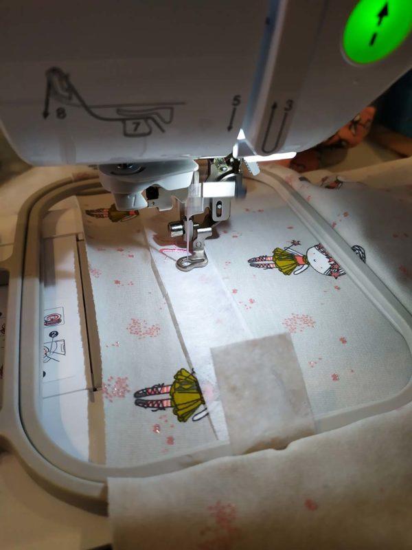 Couture de pochon