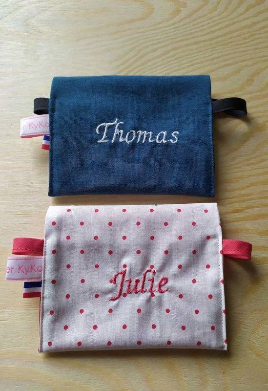 Pochettes savons / Thomas & Julie