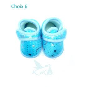 Choix 6 Bleu Etoiles Argent