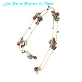 Collier Long Etoiles