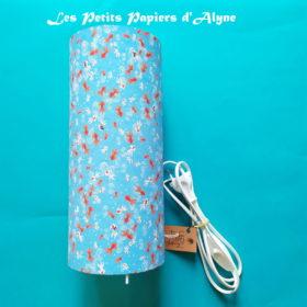 Lampe Poisson Bleu