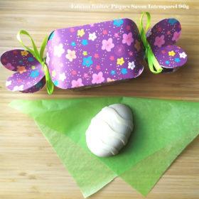 Pâques Intempo Violet Fleurs